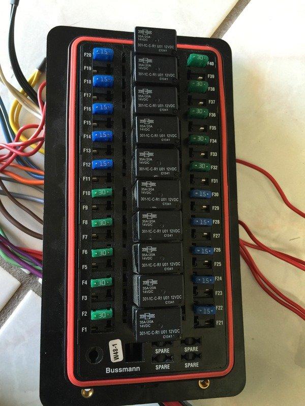 Bussman Fuse  Relay Circuit Box